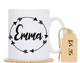 Arrows personalised Mug