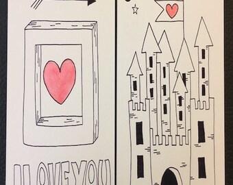 printable cards Valentine, printable, love cards, love, instant download,