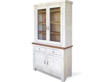 Hutch, Sideboard, Farmhouse, Buffet, China Cabinet, Reclaimed Wood, China Cupboard, Handmade, Rustic