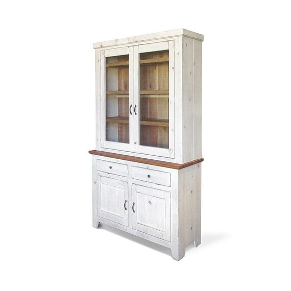 Hutch Sideboard Farmhouse Buffet China Cabinet Reclaimed
