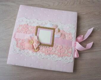 Baby Girl Photo Album, Baby Girl Memory Book, Baby Shower Gift
