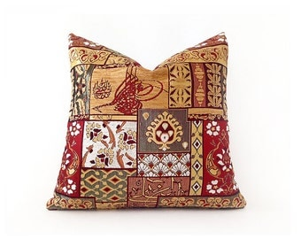 Decorative Cotton Pillow Cover Cushion Pillow Cover Throw Pillow Cotton Pillow Pillowcase Throw Pillow Accent Sofa Pillows Multicolor 17''