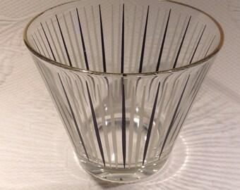 """""""Mid century modern"""" vintage ice bucket Atomic"""