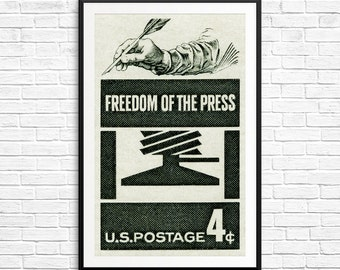 Wedding Gifts For Journalists : prints freedom of the press free press journalism democracy journalism ...
