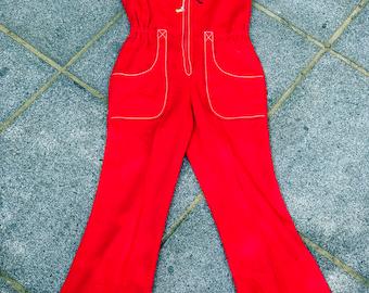The Rad Red Flaresuit