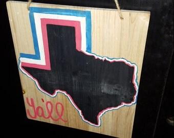 Texas Chalk Board