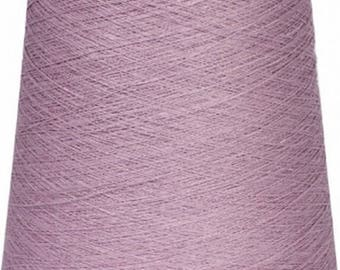 Linen yarn,500gr(17.6 oz), 100 %  high quality linen yarn, suitable for knitting, crochet ,weaving, embroidering,lilac color