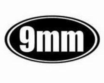 9mm sticker
