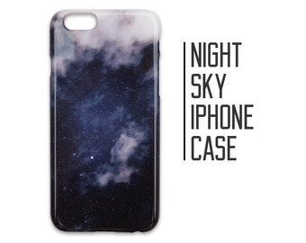 Night Sky Phone Case for iPhone 7 Plus 6 6s 5 5s 5c + Stars Constellations