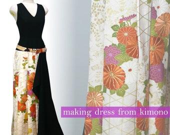 Hurisode&Ro Kimono Dress Party Dress(15-02053)