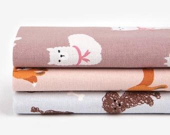 Dailylike (oxford) - 1/4 fabric set 83 Animal