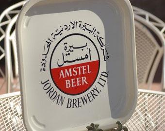 Very Rare!! Amstel Beer  Jorden Brewery , LTD   Serving Tray  1960's