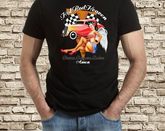 Hot rod heaven / rat rod t-shirt