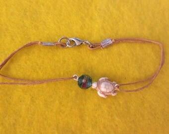Beachy Turtle Ankle Bracelet-large