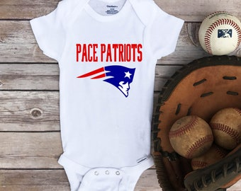 Pace Patriots Onesie®, little sister,biggest fan,Pace high school,Pace football team,Toddler Pace Patriots clothes,Pace Patriot shirt