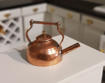 Miniature dollhouse tea pot