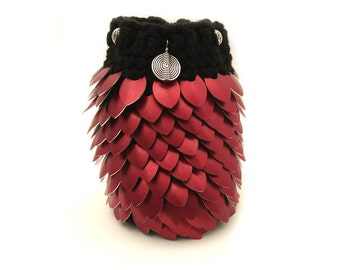 Red Dragon Scale Bag