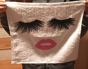 Rodan and Fields Lash Boost Washcloth
