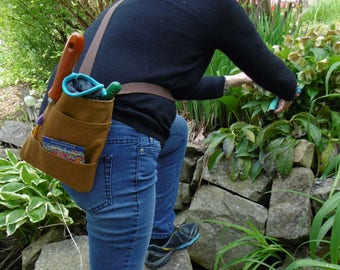 Gardener's Cross Body Tool Bag