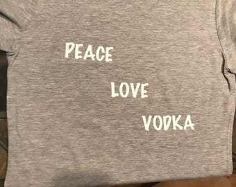 Peace Love Vodka