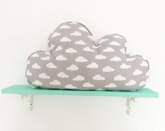 Cloud Pillow, Nursery Decor, Soft Toy, Plush Toy, Kids Room Decor, Decorative Pillow, cloud