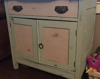 Antique Dry Sink/ Side table