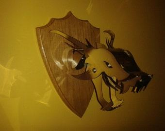 Dragon Head trophy Wall Mount