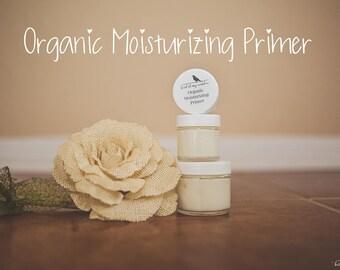 Organic Moisturizing Primer, Organic Skin Care, Face Primer, Organic Moisturizer