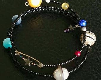 Solar System Bracelets