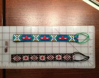 2 Jacquard Trim Headbands for Women - Southwestern & Swedish Designs