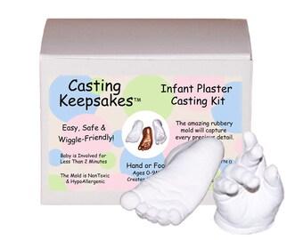 Luna Bean Infant Plaster Casting Kit (Age 0-9M)