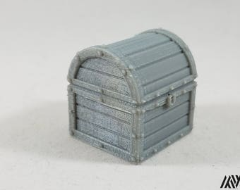Chest - miniature furniture for Tabletop Gaming (DnD/Pathfinder/Warhammer)