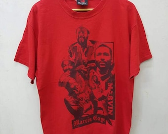 Marvin gaye T-shirt Large Size