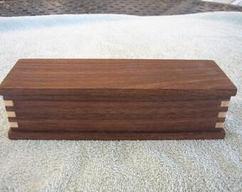 Walnut/Maple Jewelry Box