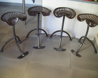 Cast iron seat bar stools