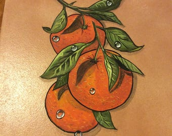 Oranges hotplate
