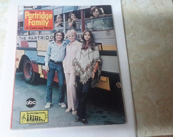 the partridge family coloring book 1971 made by artcraft