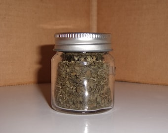 Dried Catnip in Mini Jar,  Vermont Grown!