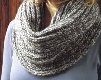 Wool scarf, handmade, for men or women