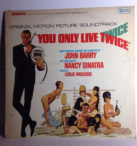 You Only Live Twice Original Motion Picture Soundtrack - United Artists Records 1967 U.S.A. UAS 5115