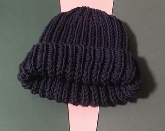 One-of-kind Merino Wool Hat