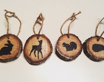 Woodland Animal Decorations