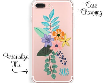 iPhone 7 Plus Case Floral iPhone 7 Case iPhone 6 Case iPhone 6s Case Monogram iPhone 6 Plus Case iPhone SE Case iPhone 6s Plus Case iPhone 5