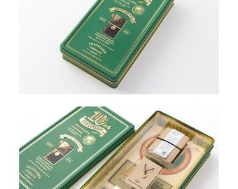 travelers notebook mini 10th anniversary green