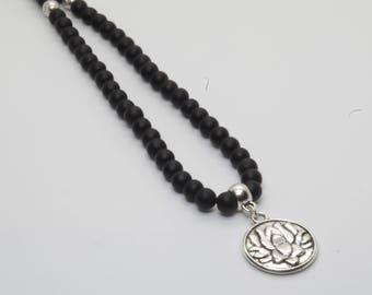 Mala 108 beads Onyx Stone