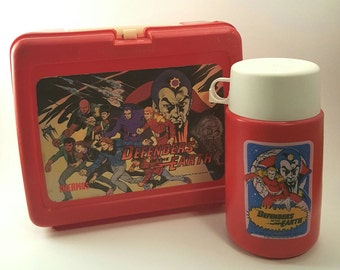 Defenders of the Earth Lunch Box
