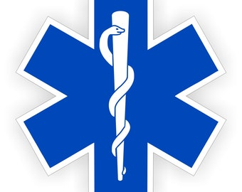 Star of life | Etsy | {Sanitäter logo 24}