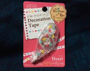 Kawaii heart Mini Deco Tape from Japan