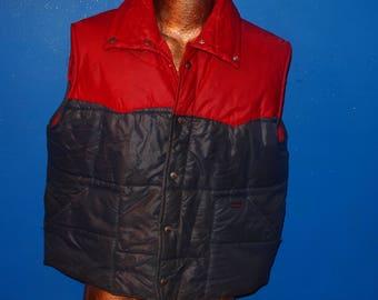 Vintage Wrangler Puff Vest