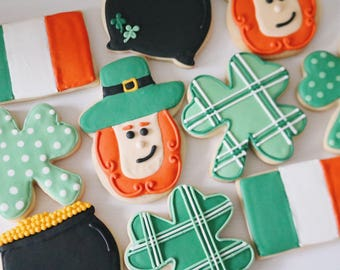 St. Patricks Day Cookies